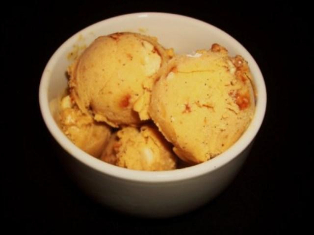 Pumpkin Ice Cream (Best Ice Cream Ever, Seriously) | One Vanilla Bean