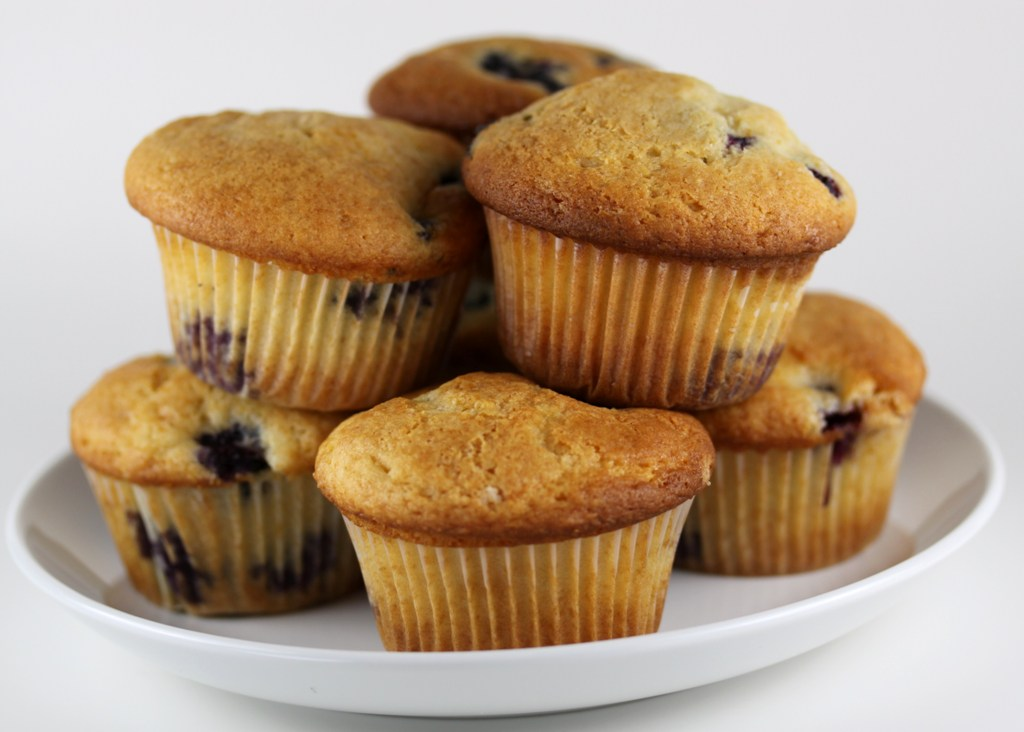 Blueberry Muffins | One Vanilla Bean
