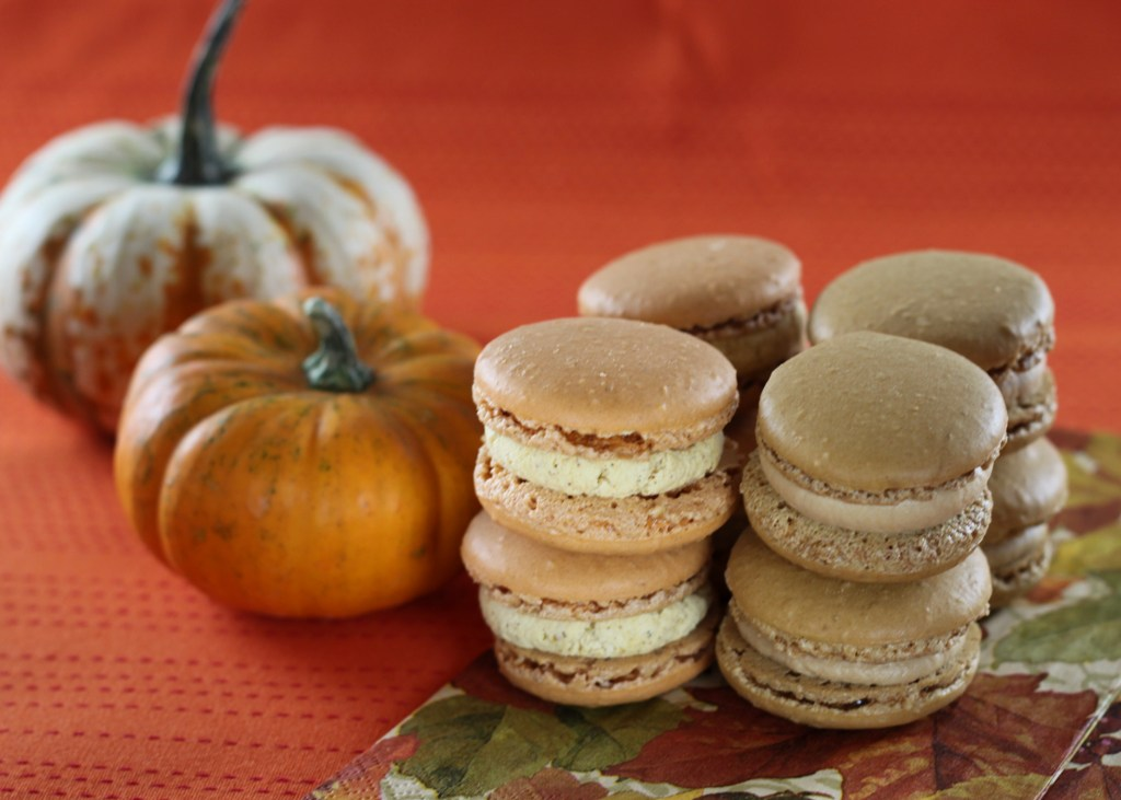 ... macarons. Check out everyone's fall inspired macarons on November