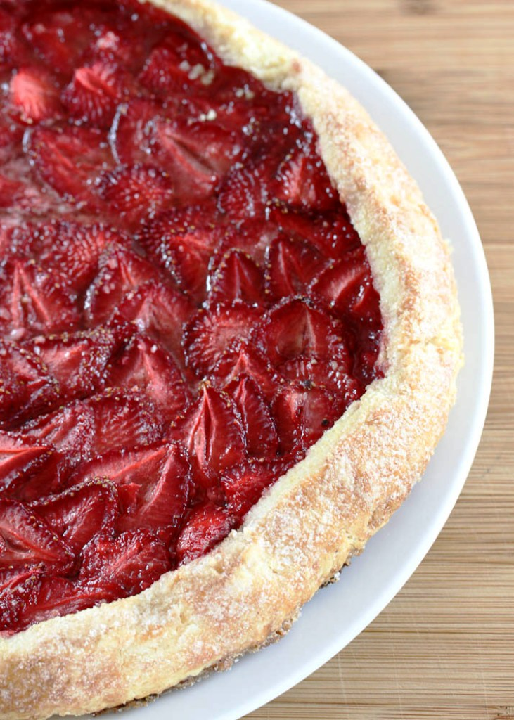 Strawberry Galette | One Vanilla Bean