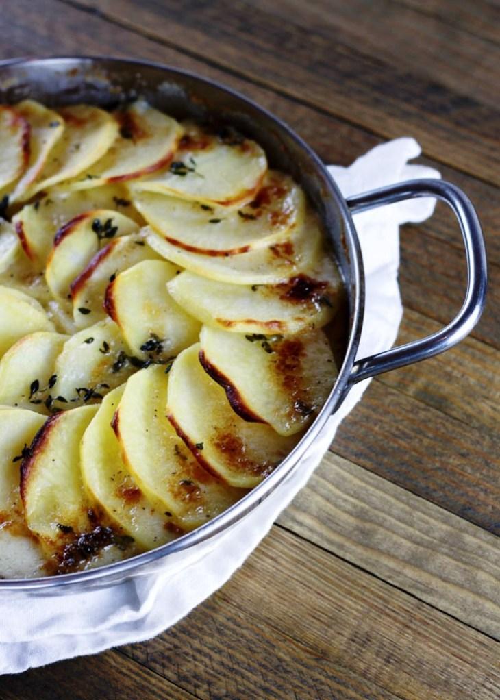 Recipes for Fall: Golden Potato Gratin, and Chicken ...