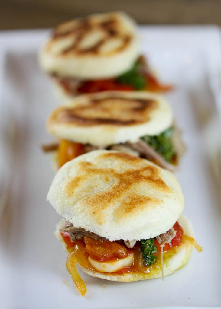 Arepas with Lamb and Sofrito 2