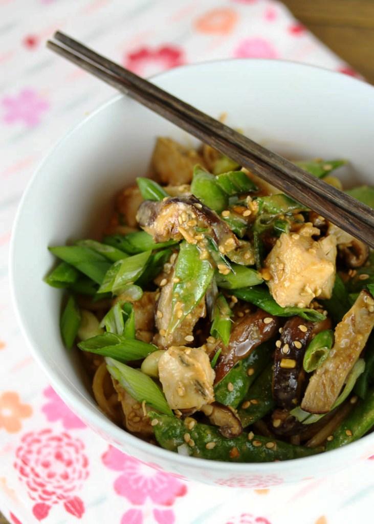Peanut Ginger Garlic Noodles 2