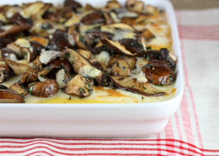 Mushroom and Herb Polenta 3