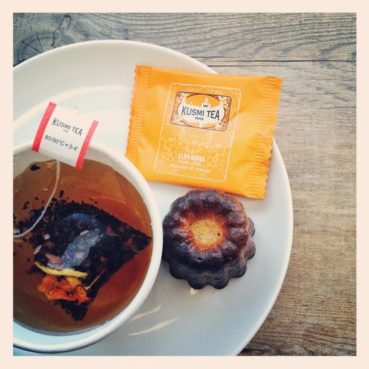 Euphoria Kusmi Tea Canele