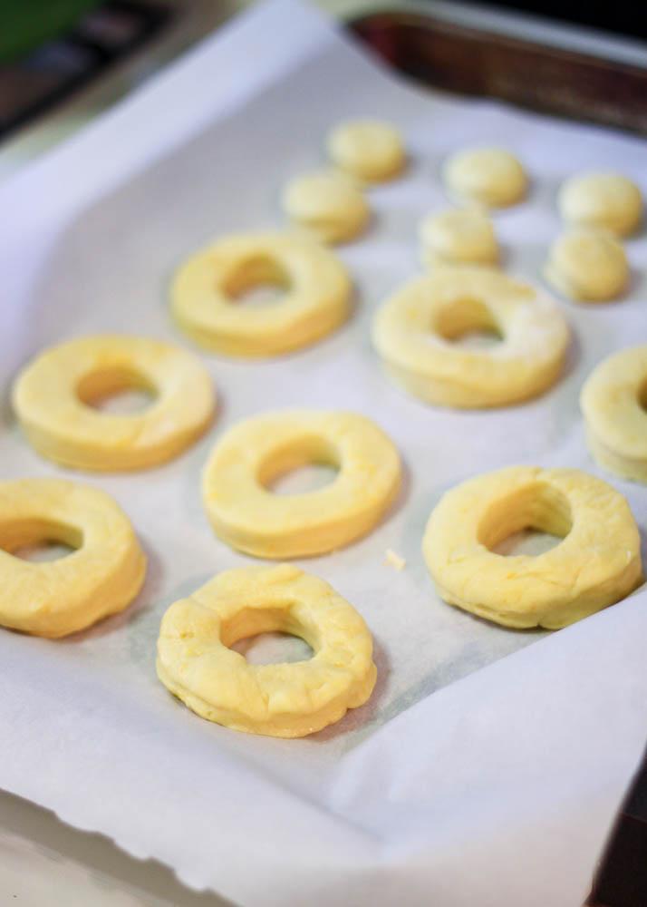 Just cut doughnuts