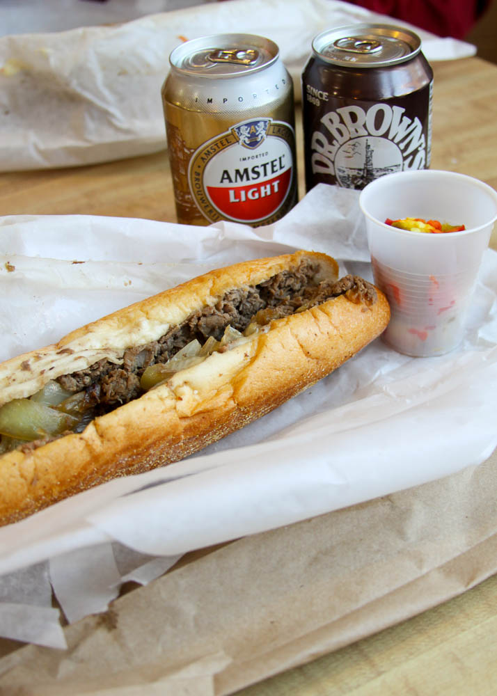 Cheesesteak at Jims