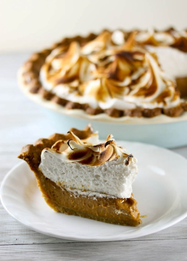 Pumpkin Meringue Pie 5