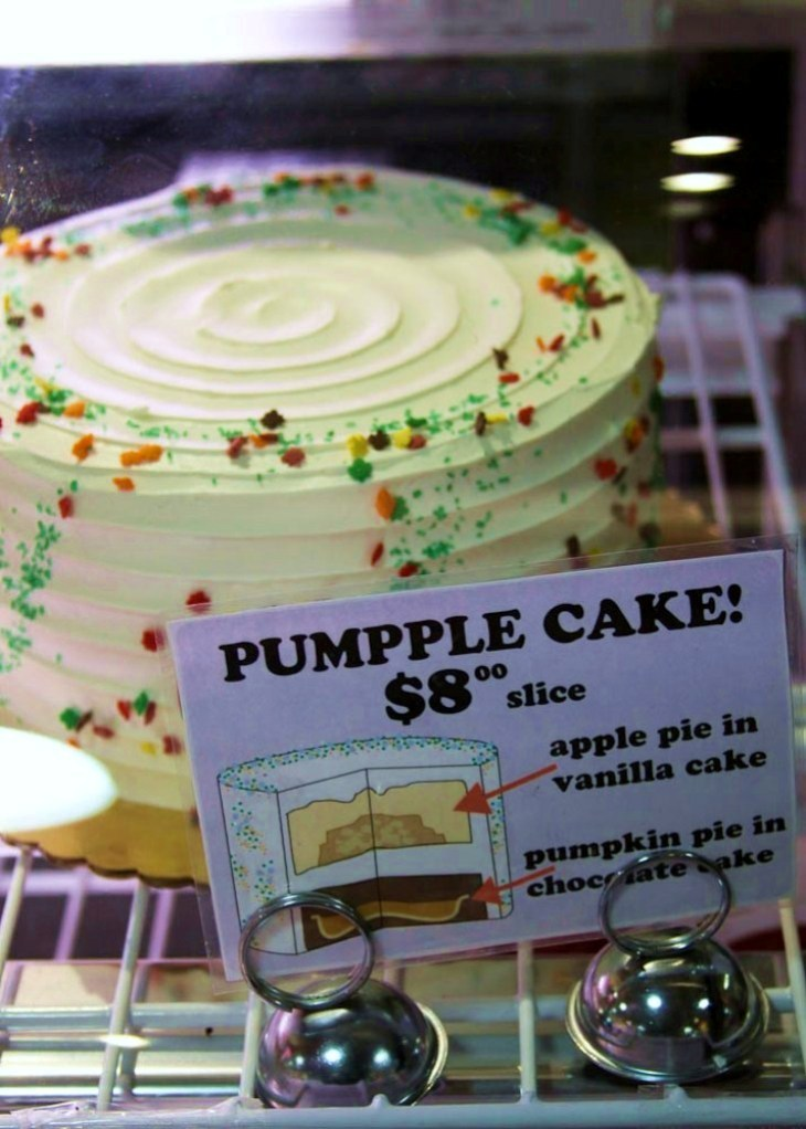 Pumple Cake at Reading Terminal Market