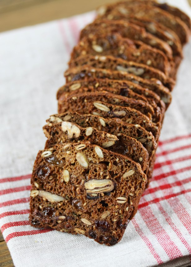 Rosemary pecan and raisin crisps-5