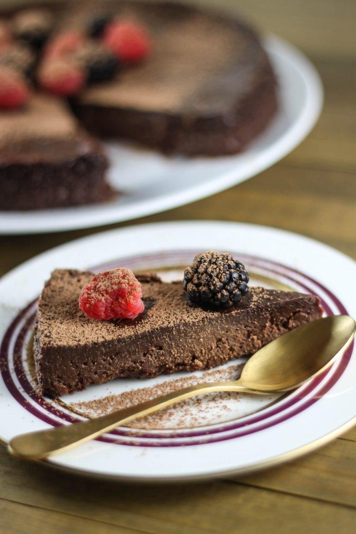 Triple Chocolate Bypass Cake-1