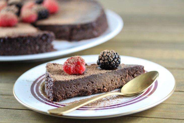 Triple Chocolate Bypass Cake-2
