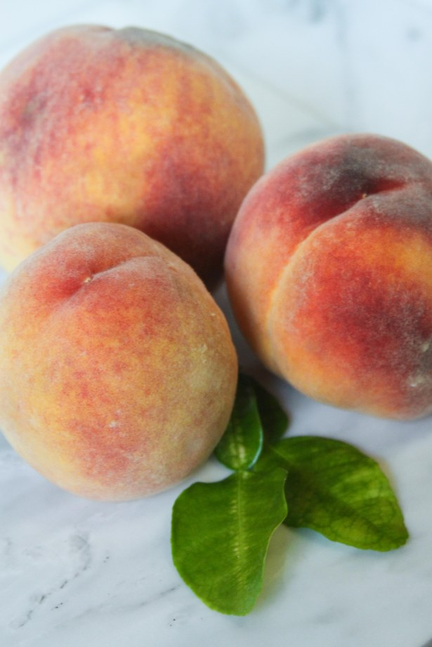Gorgeous Peaches from the Farmers Market