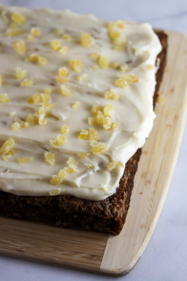 Carrot Cake with Ginger and Mascarpone Frosting 1