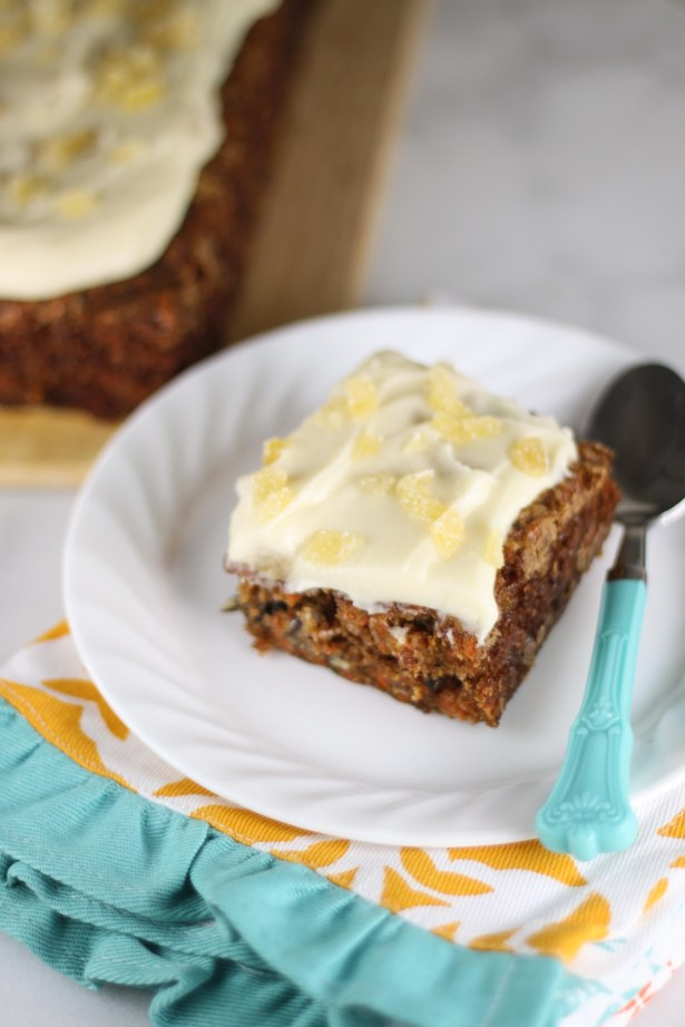 Carrot Cake with Ginger and Mascarpone Frosting 2