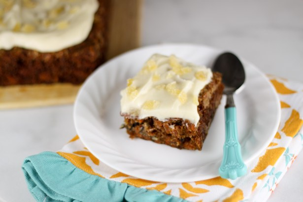 Carrot Cake with Ginger and Mascarpone Frosting 3