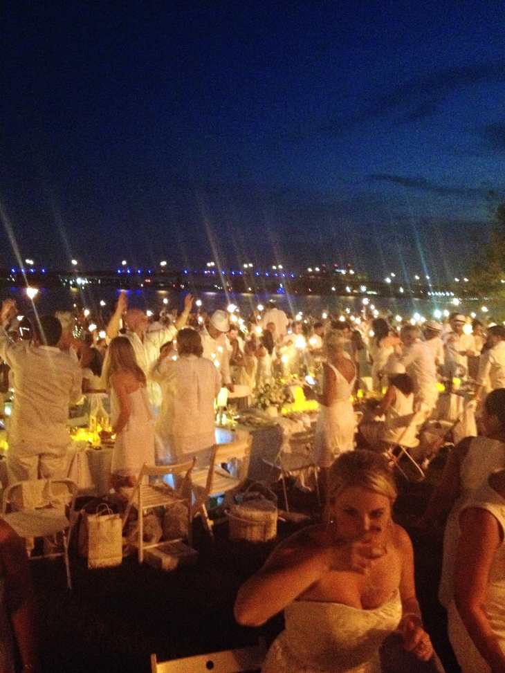Secret location of Diner en Blanc DC: Yards Park