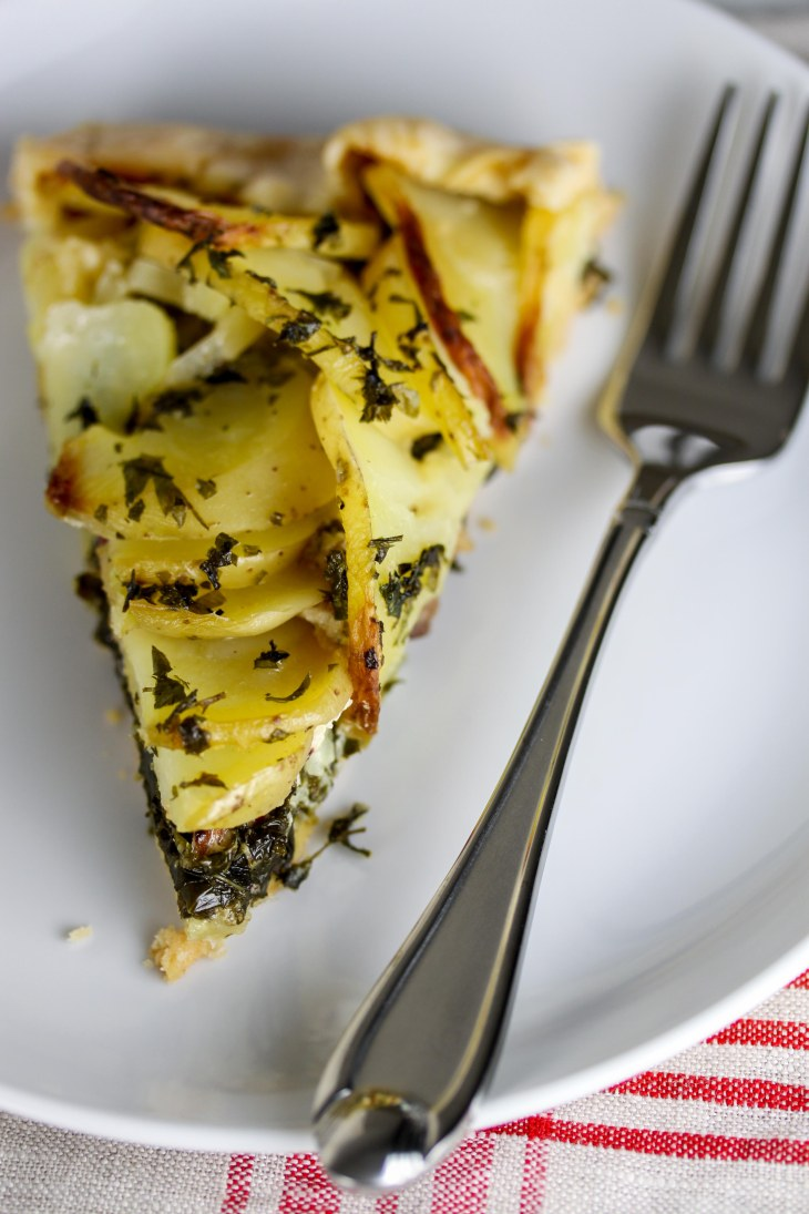 Kale and Potato Galette 3