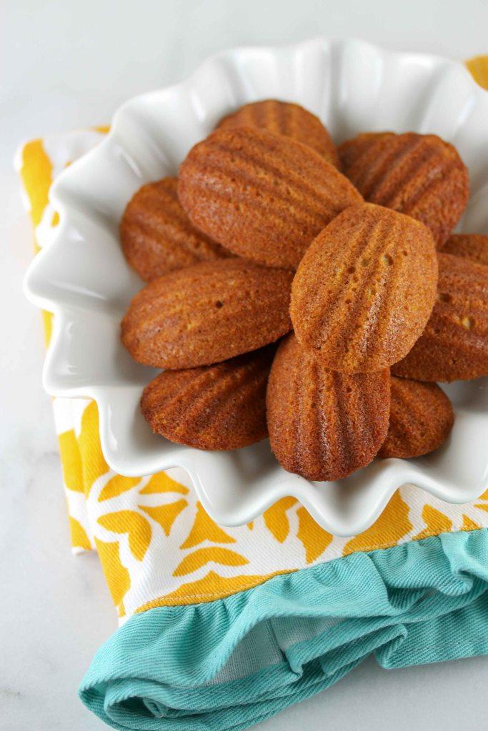 Pumpkin Spice Madeleines