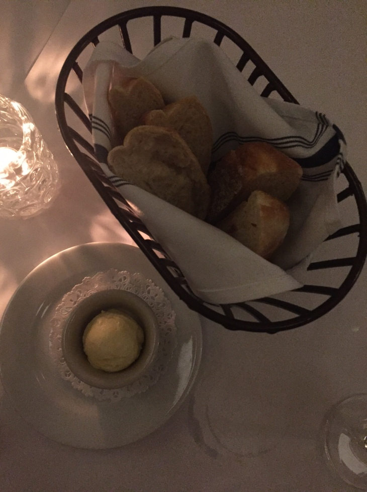 Bread Basket at LHommage Bistro