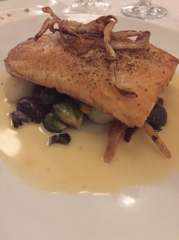 Fish Special Artic Char LHommage Bistro