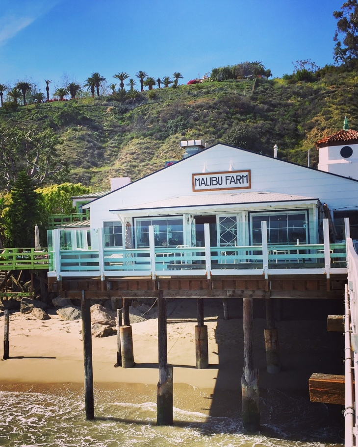 Malibu Farm Restaurant at the Malibu Pier